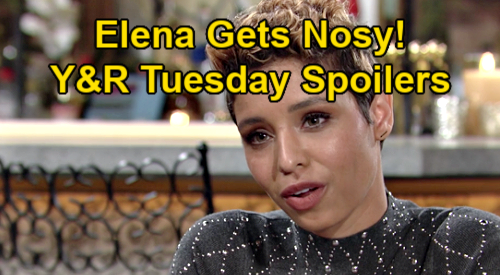 The Young and the Restless Spoilers: Tuesday, January 19 – Elena Gets Nosy About Devon & Amanda's Future – Sharon Alarms Nikki