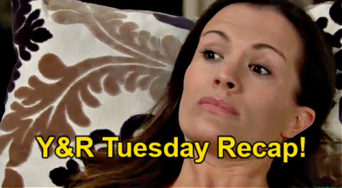 The Young and the Restless Spoilers: Tuesday, May 11 Recap – Chelsea Fakes Post-Stroke Psychosis – Michael Says Adam is Free