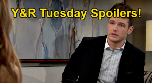 The Young and the Restless Spoilers: Tuesday, May 18 – Kyle's Cover Story – Amanda Plays Imani - Rey Tells Sharon