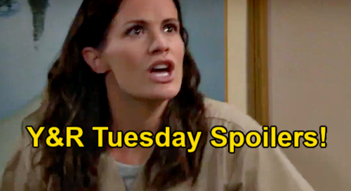 The Young and the Restless Spoilers: Tuesday, May 25 – Adam & Victor's Game Plan – Chelsea's Sneaky Stunt – Sharon Is Impressed