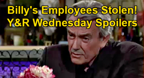 The Young and the Restless Spoilers: Wednesday, April 7 Recap – Victor Steals Billy's Employees – Rey & Nick Gang Up On Sharon