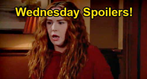 The Young and the Restless Spoilers: Wednesday, August 25 – Mariah Investigation Curveball – Sally Snoops on Jack & Phyllis