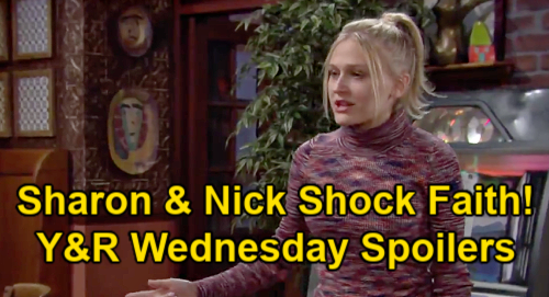 The Young and the Restless Spoilers: Wednesday, January 13 – Sharon & Nick's Shocking Decision, Faith's Fury – Devon Helps Amanda Cope