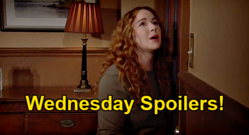 The Young and the Restless Spoilers: Wednesday, July 28 – Mariah's Escape Route – Video Proof of Sally & Tara's Link