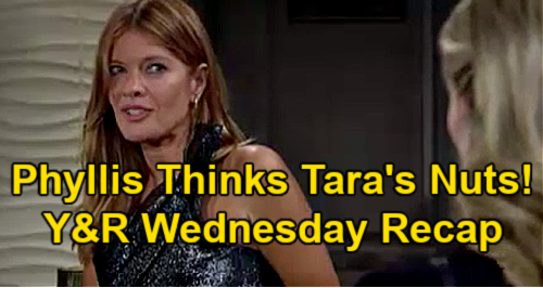 The Young and the Restless Spoilers: Wednesday, June 23 Recap – Phyllis Thinks Tara's Nuts - Summer's Evil Stepmom Excuse