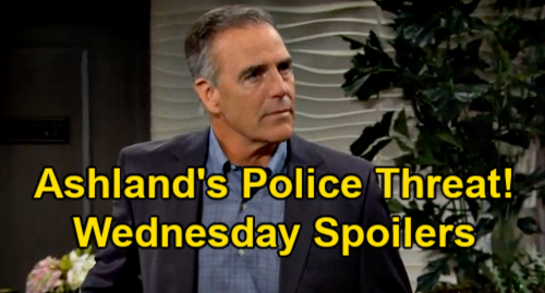 The Young and the Restless Spoilers: Wednesday, May 19 Recap – Ashland Threatens Cops Over Kidnapper Tara – Billy's Adam Attack Plan