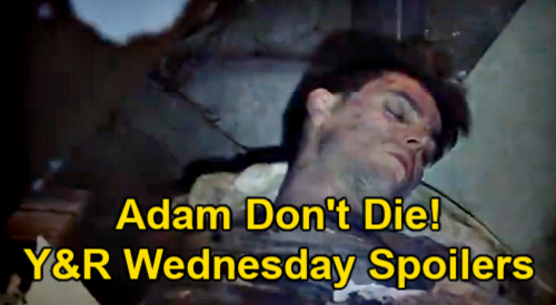 The Young and the Restless Spoilers: Wednesday, May 5 – Adam Unconscious, Nick Warns Don't Die – Victor & Chelsea's Showdown