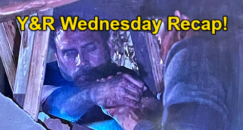 The Young and the Restless Spoilers: Wednesday, May 5 Recap – Adam Gets Firefighters & Ambulance for Injured Nick, Brothers Bond