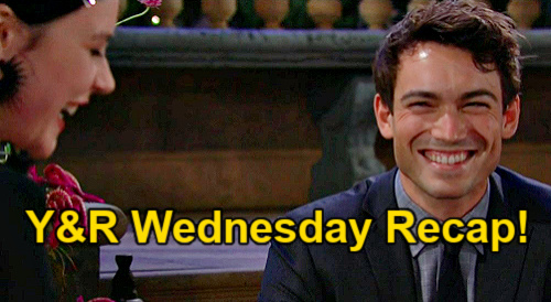 The Young and the Restless Spoilers: Wednesday, October 13 Recap – Summer Rages Sally is Adam's Date – Tessa & Noah Reconnect
