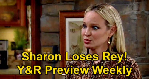 The Young and the Restless Spoilers: Week of April 19 Preview – Sharon Losing Rey Forever – Lola Figures Out Tough Divorce
