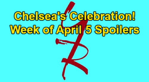 The Young and the Restless Spoilers: Week of April 5 – Chelsea's Celebration – Victor's Revenge – Mariah's Blood Test Results