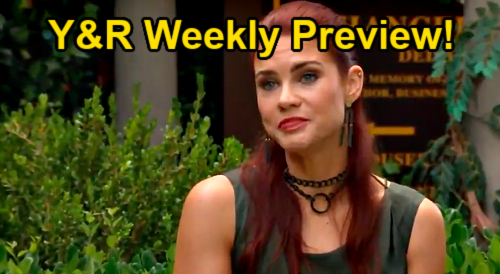 The Young and the Restless Spoilers: Week of August 23 Preview – Sally's Wedding Dress – Mariah Panics Over Solo Baby Birth