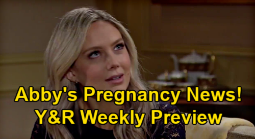 The Young and the Restless Spoilers: Week of January 11 – Abby's Pregnancy News – Amanda Cries in Devon's Arms After Mom Shocker