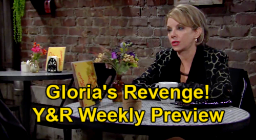 The Young and the Restless Spoilers: Week of January 18 Preview – Adam Sends Sharon Flowers – Gloria's Revenge on Kevin