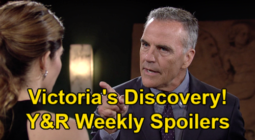 The Young and the Restless Spoilers: Week of July 19 – Victoria's Stunning Ashland Discovery – Adam Confesses to Sharon