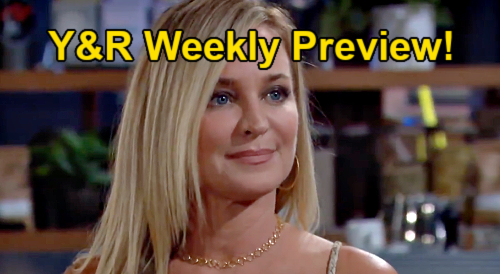 The Young and the Restless Spoilers: Week of July 19 Preview - Adam Seduces Sharon - Jack & Sally's Date - Imani's Bomb