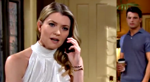 The Young and the Restless Spoilers: Week of July 26 Preview – Kyle Catches Tara's Secret Phone Call – Sally Threatens Phyllis