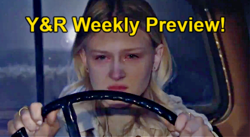 The Young and the Restless Spoilers: Week of March 29 Preview – Chloe Attacks Chelsea – Drunk Faith's Speeding Truck Crash