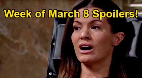 The Young and the Restless Spoilers: Week of March 8 – Lola Rescues Faith – Chloe Saves Chelsea – Sharon Tackles Adam Addiction