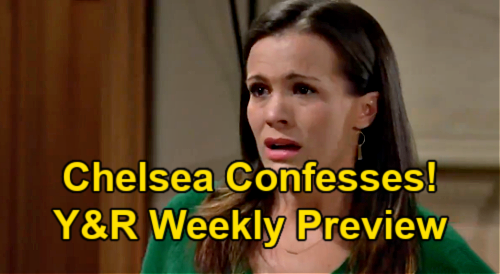 The Young and the Restless Spoilers: Week of May 10 Preview – Chelsea's Confession, Tells Rey So Sorry – Surgery Suspense