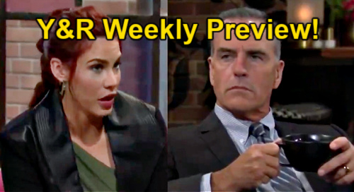 The Young and the Restless Spoilers: Week of May 24 Preview – Sally Tempts Ashland – Adam's Visit Brings Chelsea's Rage