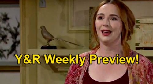The Young and the Restless Spoilers: Week of September 13 Preview – Stitch Return Terrifies Mariah - Ashland Rocks Victoria