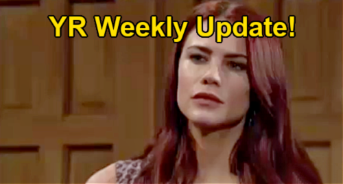 The Young and the Restless Spoilers: Week of September 13 Update – Sally Schooled on Adam & Sharon History