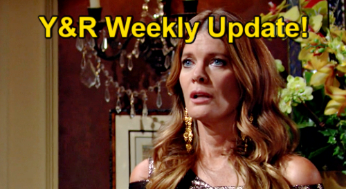 The Young and the Restless Spoilers: Week of September 20 Update – Dina's Message – Nikki's Temptation - Nick's Outage