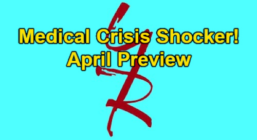 The Young and the Restless Spoilers: Y&R April Preview – Medical Crisis Shocker, Vicious Vendettas, Explosive Secrets and More