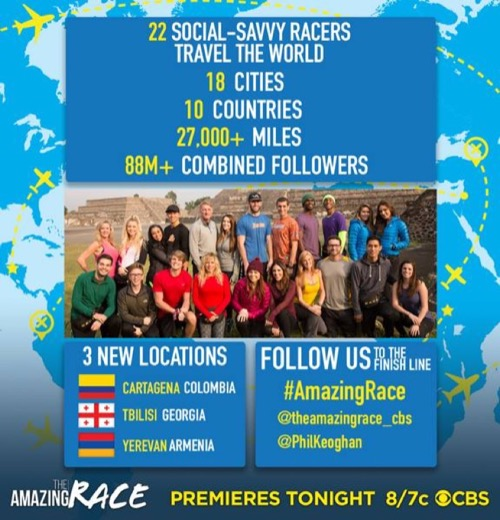 "The Amazing Race Recap - Premiere : Recap Season 28 Episode 1 ""I Should've Been a Boy Scout"""
