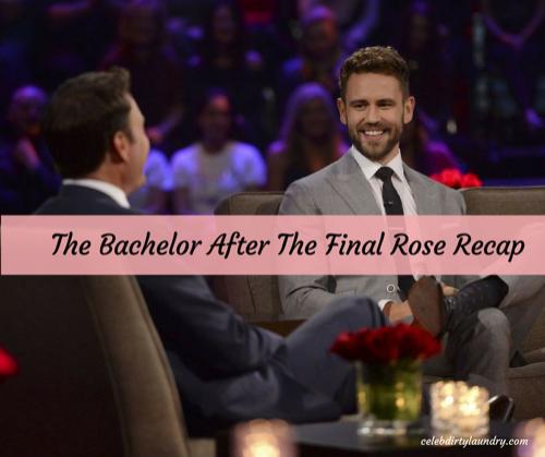 The Bachelor After The Final Rose Recap 3/13/17: Season 21