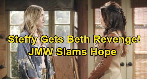The Bold and the Beautiful Spoilers: Jacqueline MacInnes Wood Says 'Hope Can Be All About Herself' – Teases Steffy's Beth Payback