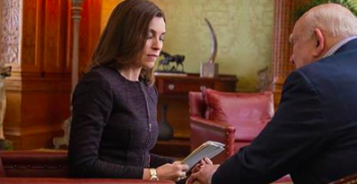 "The Good Wife Recap - Alicia's Strange Interlude: Season 6 Episode 14 ""Mind's Eye"""