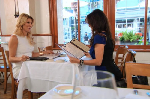 "The Real Housewives of Beverly Hills Recap - Brandi Glanville Goes Overboard: Season 5 Episode 8 ""Wining and Dining"""