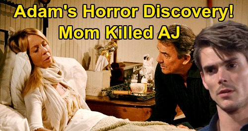The Young and the Restless Spoilers: Adam's Mom Killed AJ, Saved Son's Life – Victor Covered Up Murder, Kept Hope's Secret?