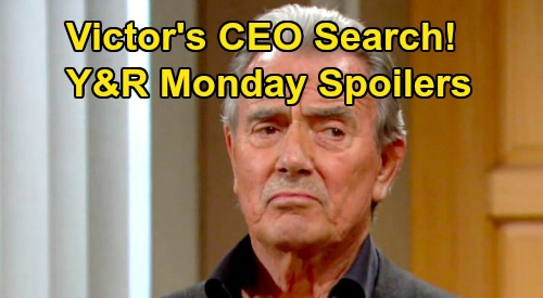 The Young and the Restless Spoilers: Monday, February 24 – Victoria Remains in Coma, Victor's CEO Search – Sharon Fights For Control