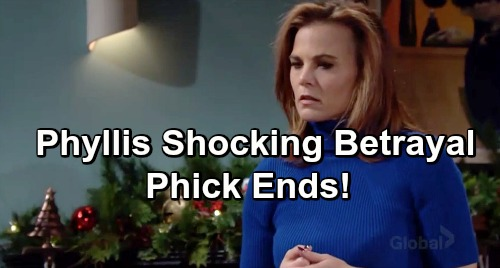 The Young and the Restless Spoilers: Phyllis Betrays Coverup Crew as J.T. Secret Unravels – Nick Ends Phick, Newmans Turn Against Her