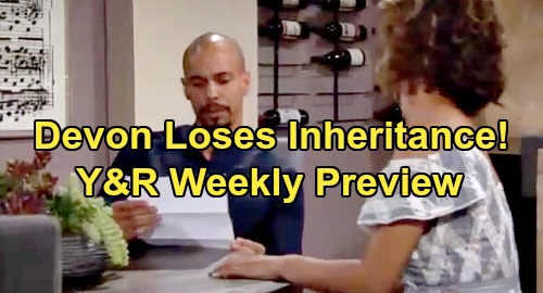 The Young and the Restless Spoilers: Week of August 26 Preview - Devon's Fortune in Jeopardy – Michael's Arrest Plan for Chloe & Kevin