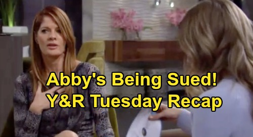 The Young and the Restless Spoilers: Tuesday, February 25 Recap – Amanda Considers Going Into Hiding – Abby's Lawsuit Bomb – Billy's Job Offer