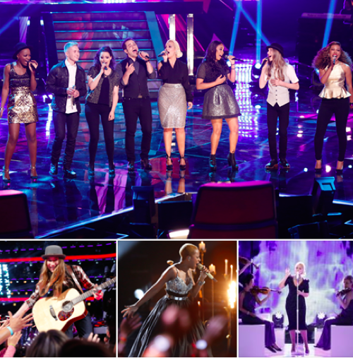 """The Voice 2015 Recap - Hannah Kirby and Corey Kent White Eliminated: Season 8 Episode 21 """"Live Top 8 Eliminations"""""""