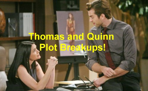The Bold and the Beautiful (B&B) Spoilers: Liam Calls Off Engagement? Quinn and Thomas Scheme to Get Steffy with Wyatt!