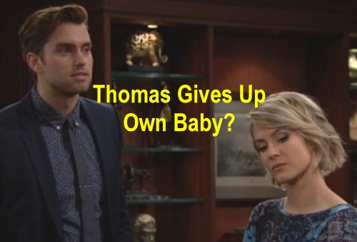 The Bold and the Beautiful (B&B) Spoilers: Will Ridge Bribe Thomas to Keep Caroline Baby Paternity Secret?
