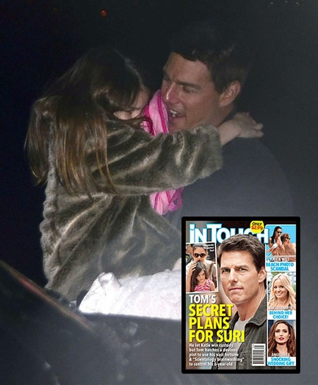 Tom Cruise's Secret Plans For Suri Exposed