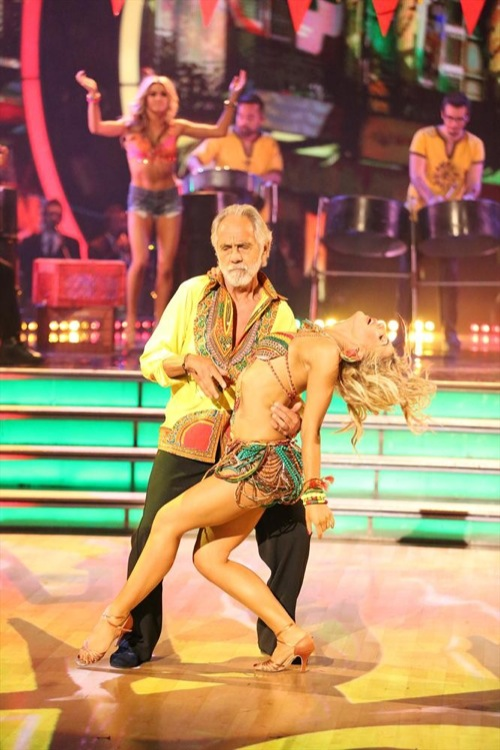 Tommy Chong & Peta Murgatroyd Dancing With the Stars Foxtrot Video Season 19 Week 6 10/20/14 #DWTS