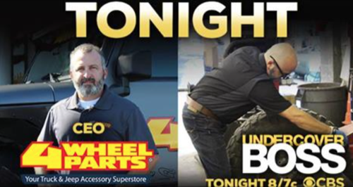 "Undercover Boss Recap 2/5/16: Season 7 Episode 8 ""4 Wheel Parts"""