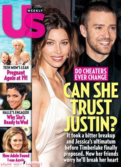 Can Jessica Biel Trust Justin Timberlake, Do Cheaters Change? (Photo)