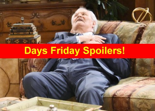 Days of Our Lives (DOOL) Spoilers: Ben Steals Baby, Leaves Chad and Abigail for Dead – Hope Threatens Dr. Malcolm With Gun