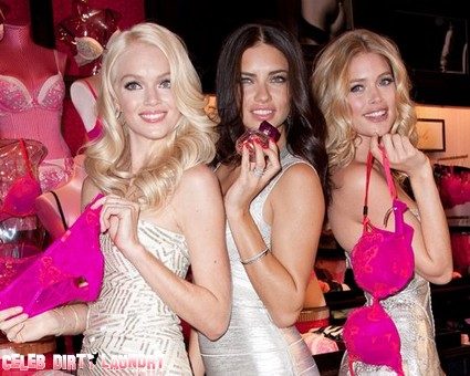 Victoria's Secret Angels Ready For Valentine's Day (Photo)
