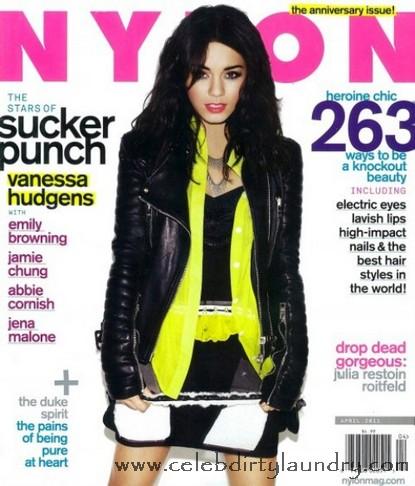 Vanessa Hudgens Covers April 2011 Nylon Magazine