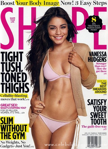 Vanessa Hudgens Shows Off Her Banging Body On The Cover Of Shape